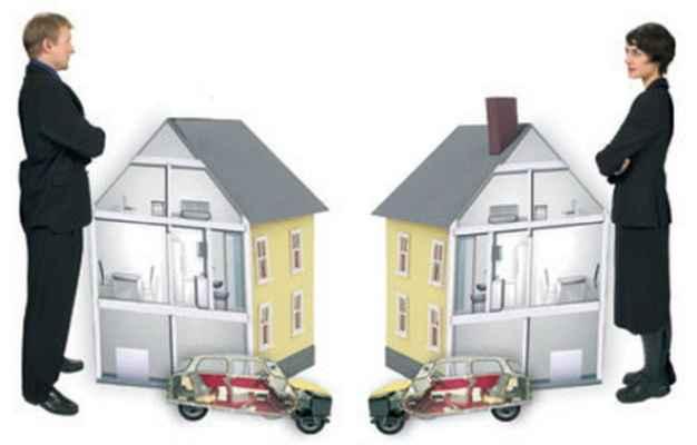 оставалась возможен ли развод при разделе имущества поведению